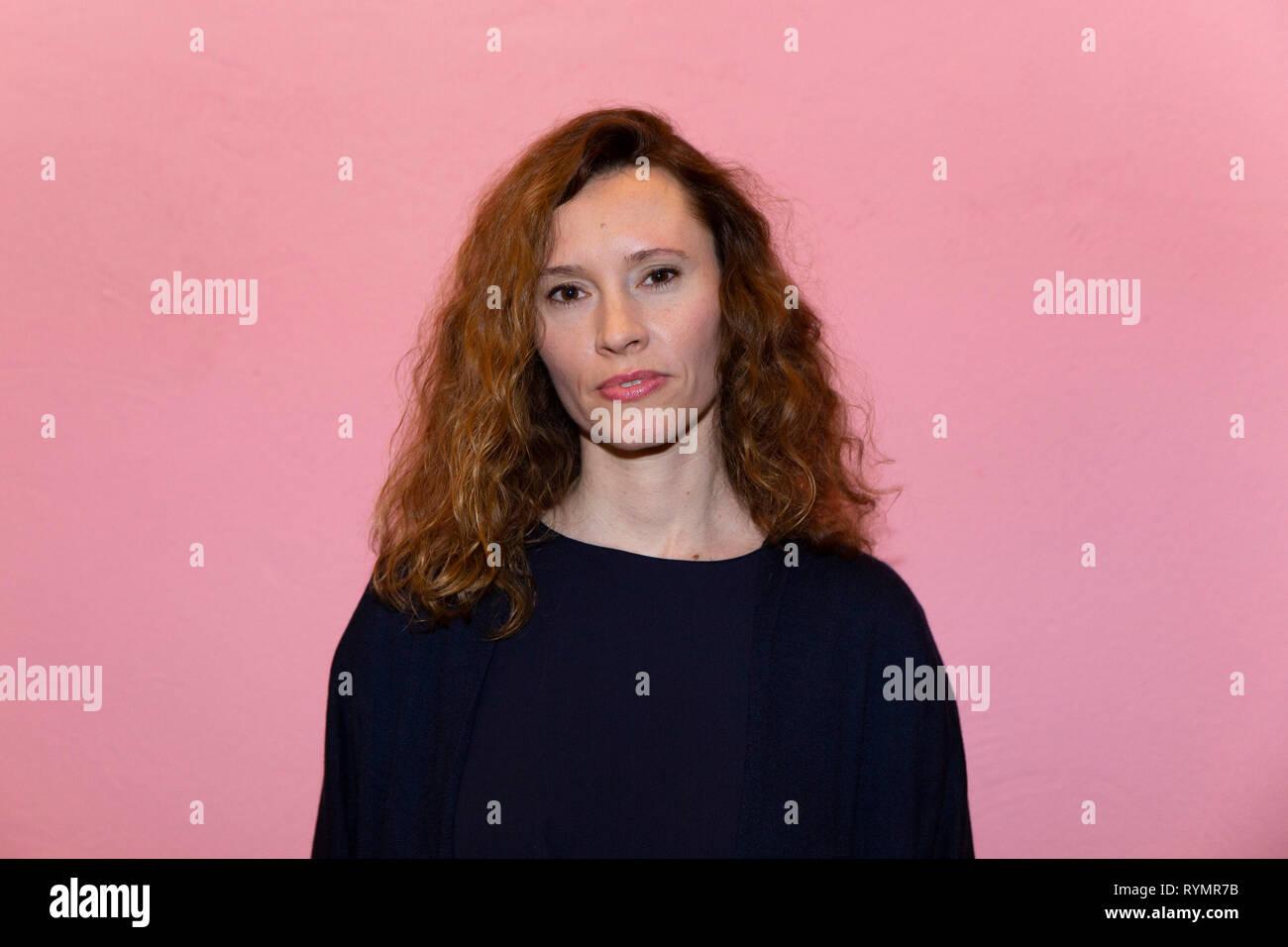 Christine Repond bei der Premiere Film Vakuum, Schauspiel Köln, Köln, 13.03.2019 - Stock Image