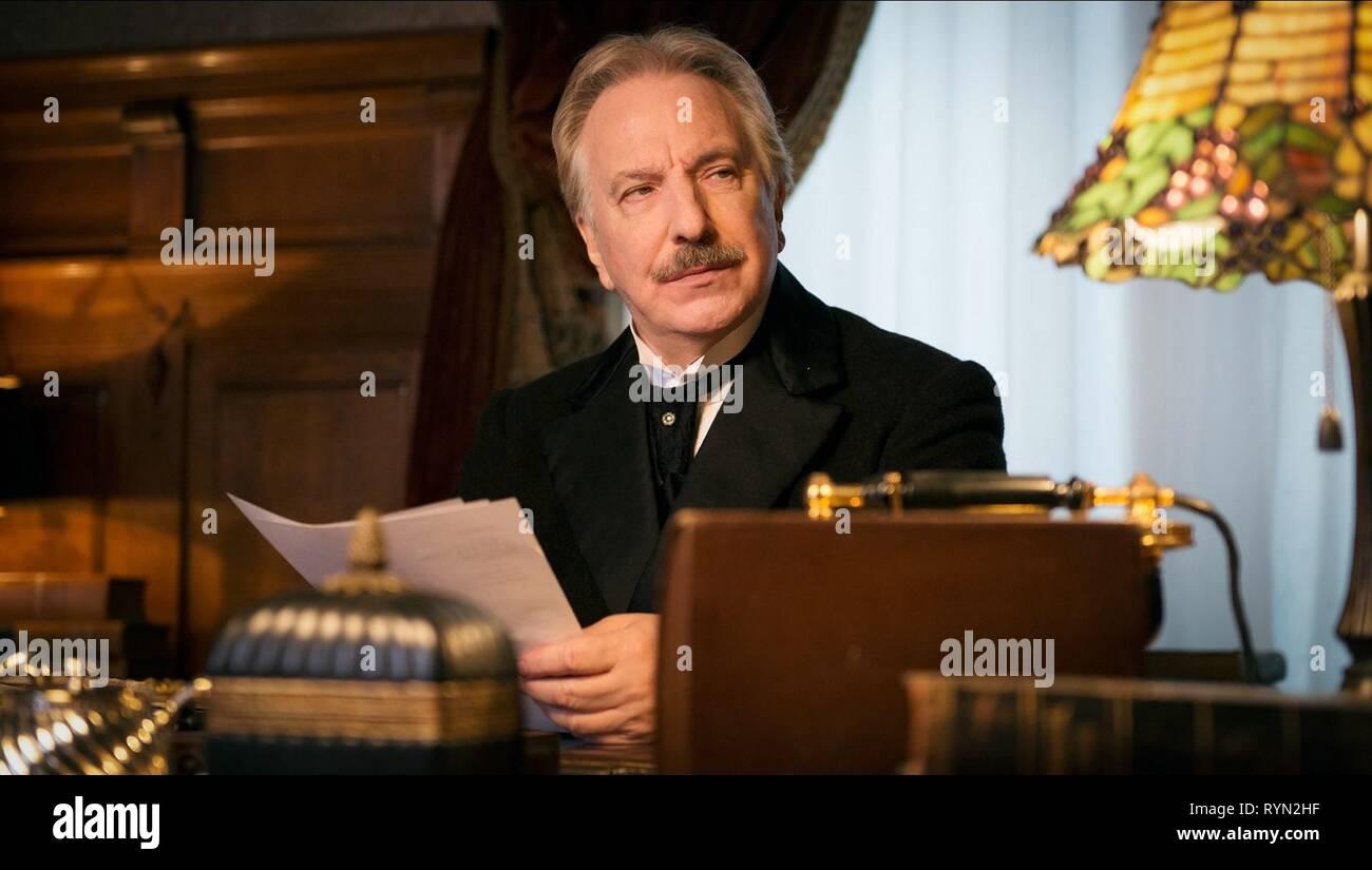 ALAN RICKMAN, A PROMISE, 2013 - Stock Image