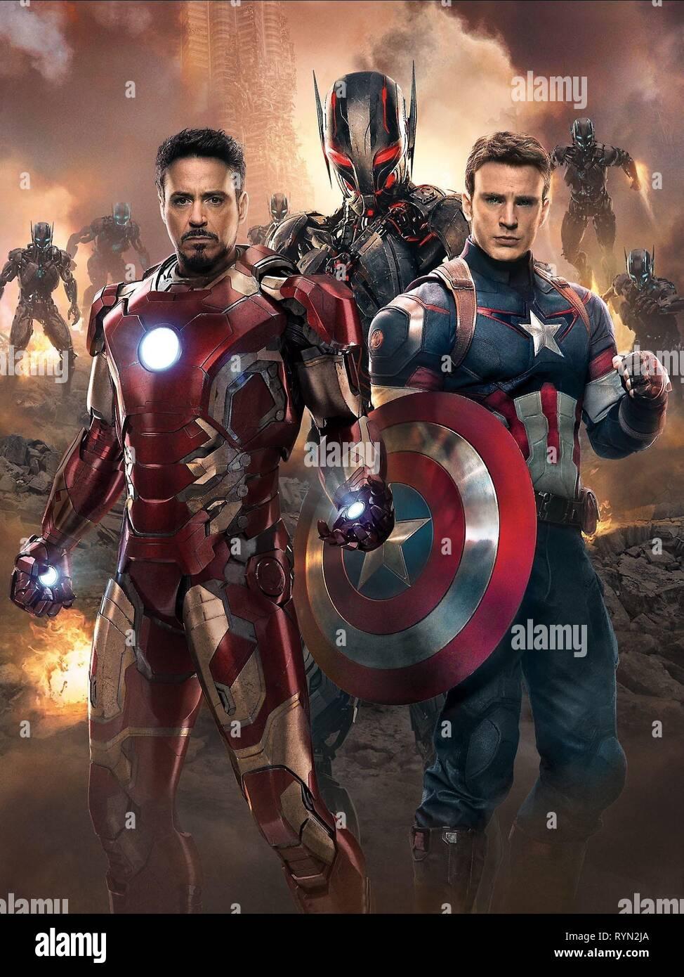 Jr Evans Avengers Age Of Ultron 2015 Stock Photo Alamy