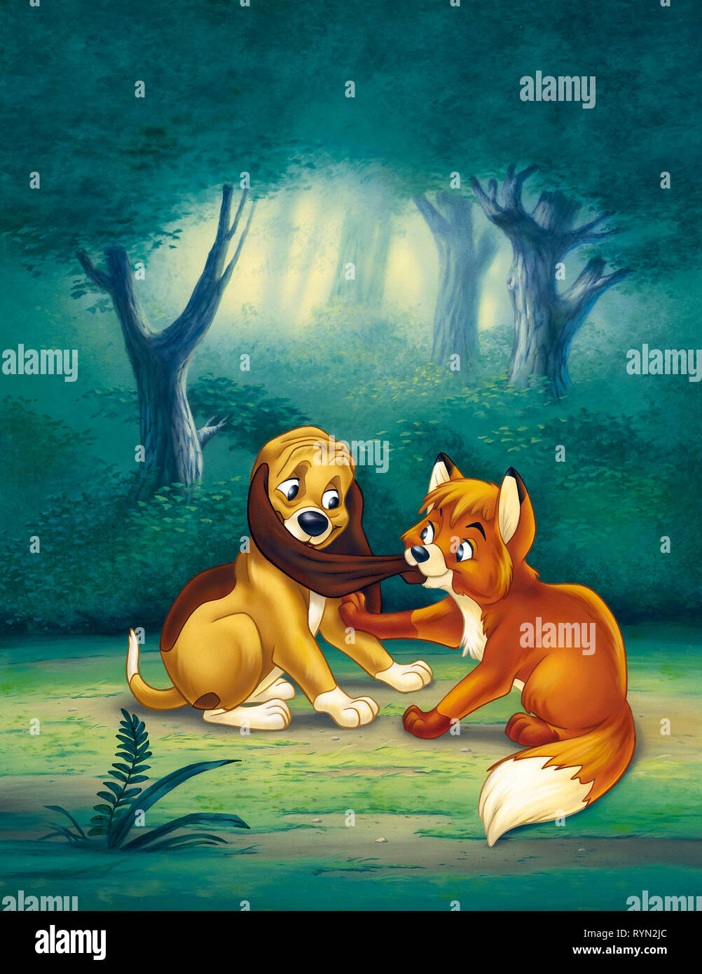 The Fox And The Hound 1981 Stock Photos The Fox And The Hound
