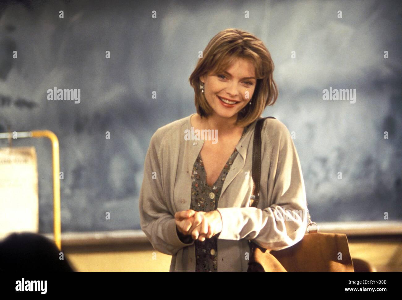 MICHELLE PFEIFFER, DANGEROUS MINDS, 1995 Stock Photo
