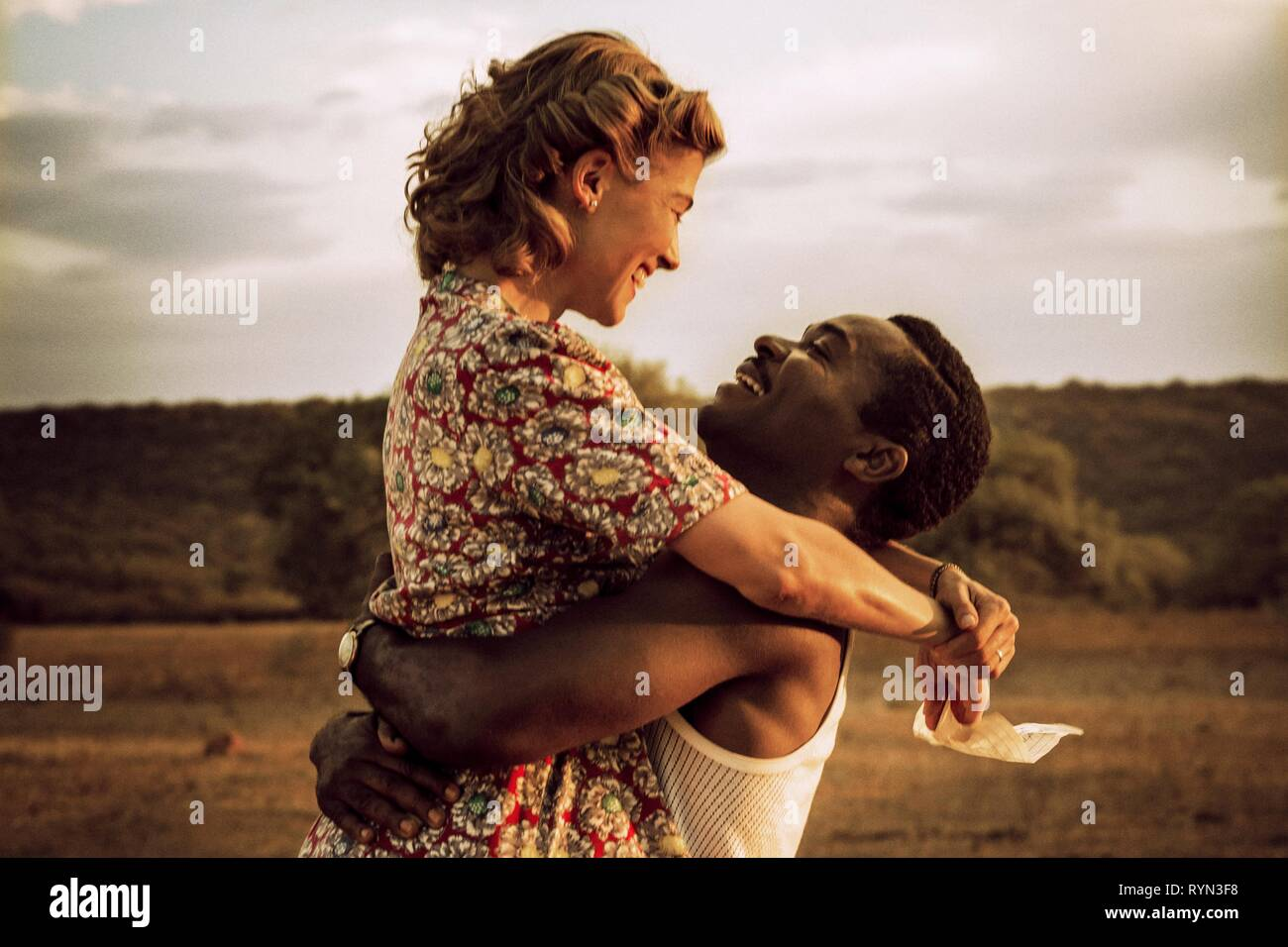 PIKE,OYELOWO, A UNITED KINGDOM, 2016 - Stock Image
