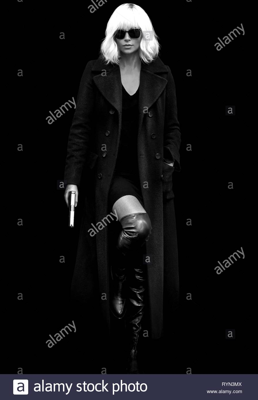 CHARLIZE THERON, ATOMIC BLONDE, 2017 - Stock Image