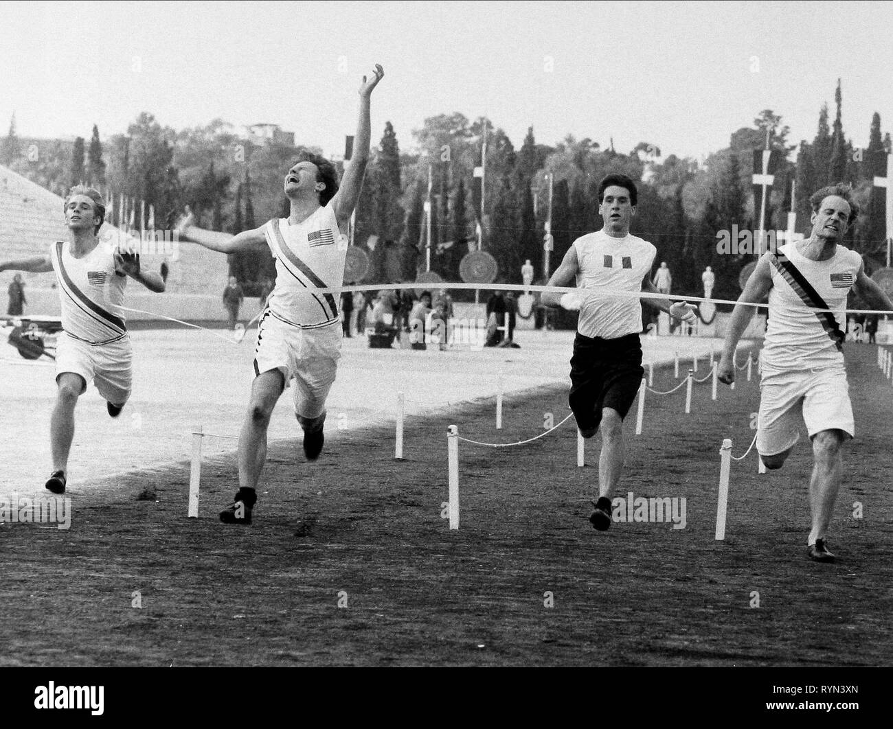 CONNERY,COBB,FREWER, THE FIRST OLYMPICS: ATHENS 1896, 1984 Stock Photo