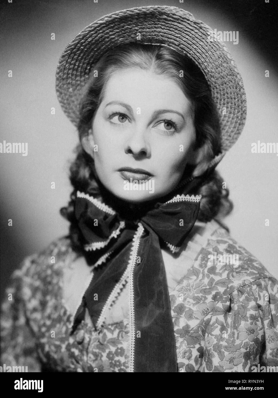 INGRID BERGMAN, GASLIGHT, 1944 Stock Photo