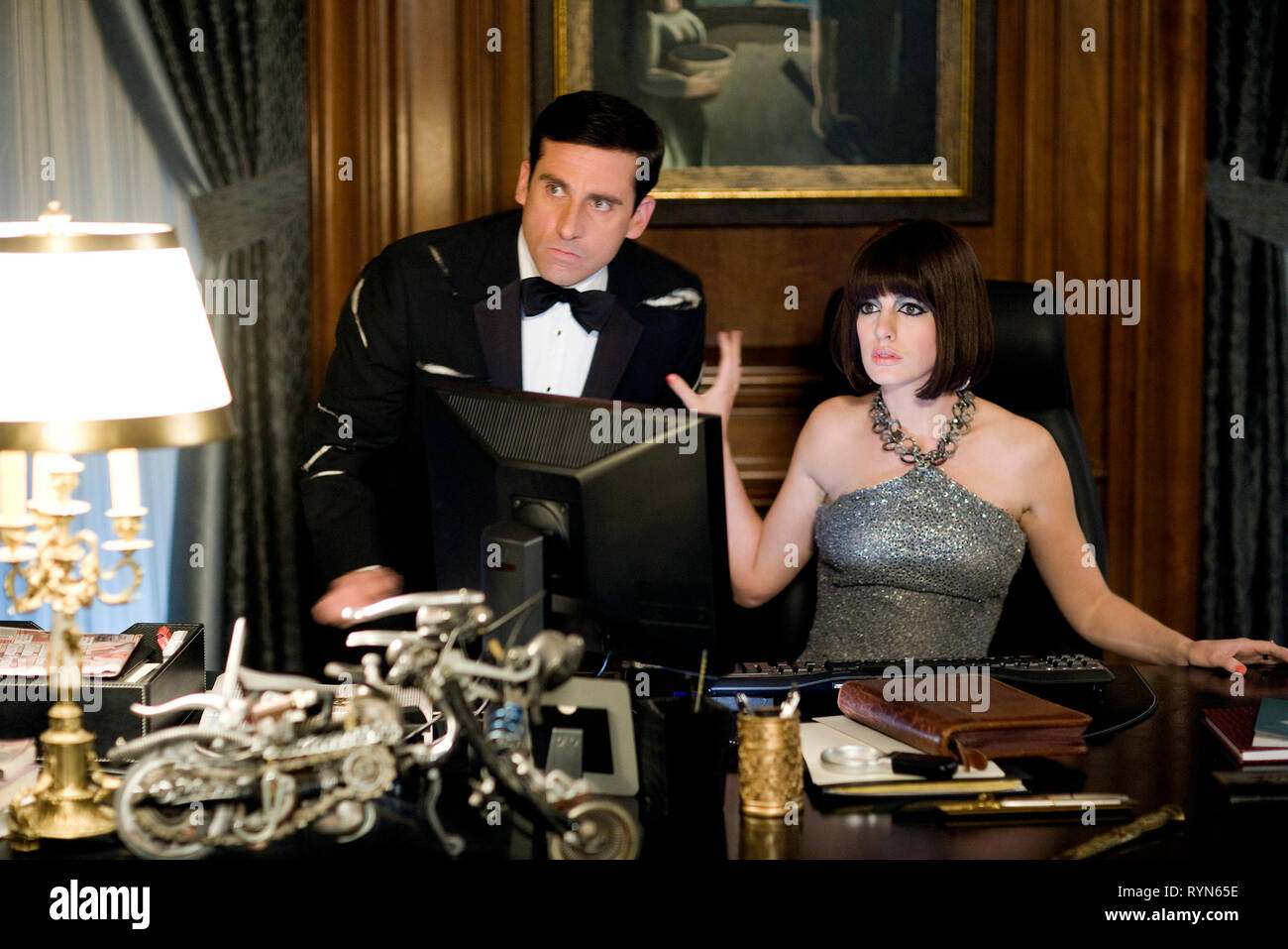 CARELL,HATHAWAY, GET SMART, 2008 - Stock Image