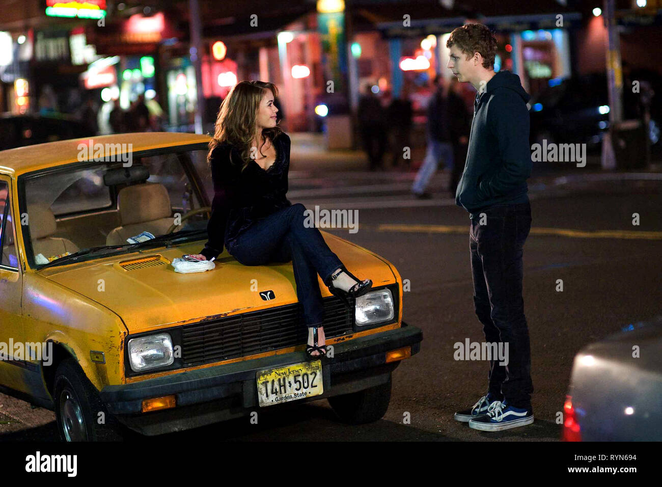 DZIENA,CERA, NICK AND NORAH'S INFINITE PLAYLIST, 2008 - Stock Image