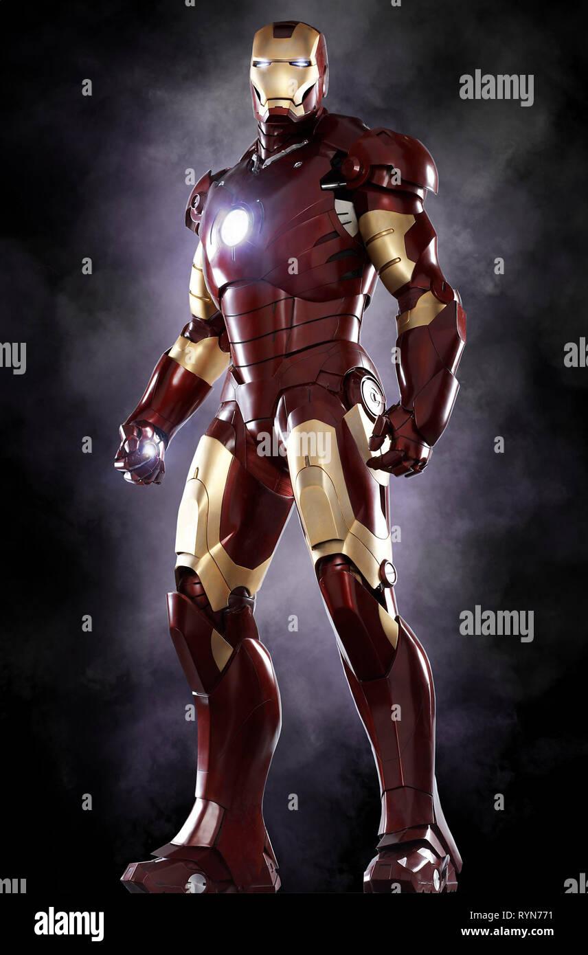 Iron Man Iron Man 2008 Stock Photo Alamy