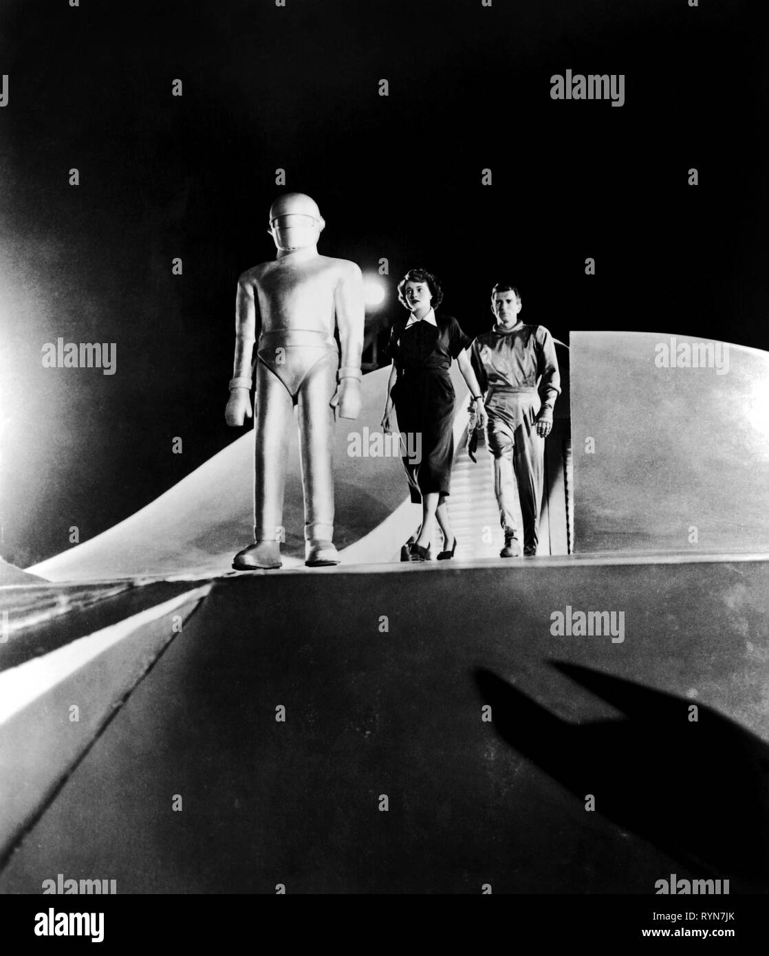 NEAL,RENNIE, THE DAY THE EARTH STOOD STILL, 1951 - Stock Image