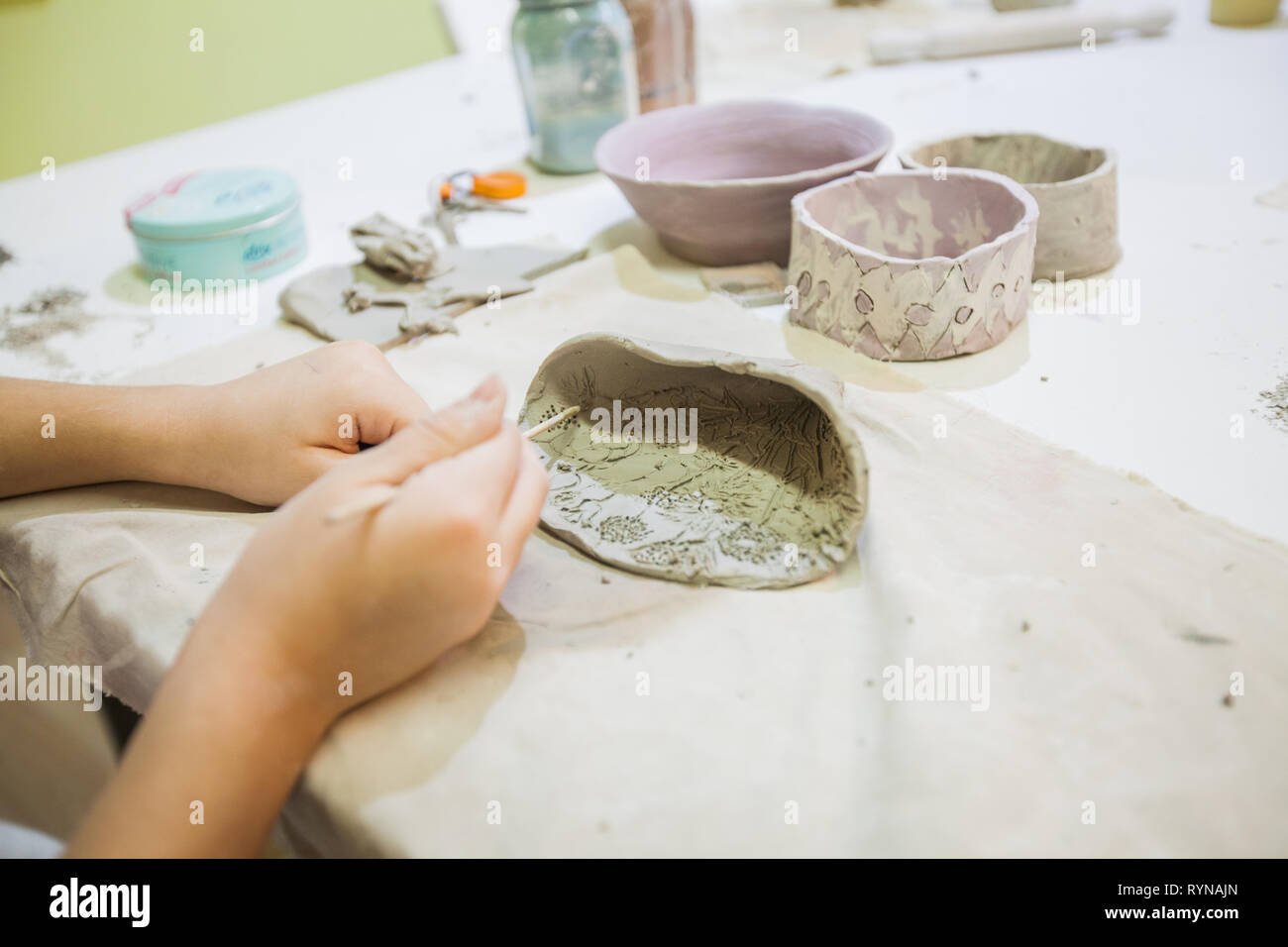 Clay Made Items High Resolution Stock Photography And Images Alamy