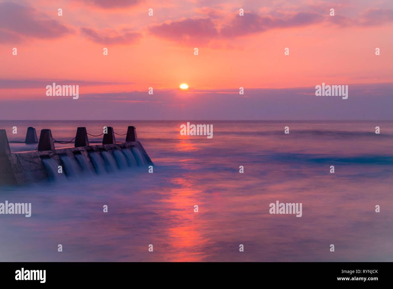 On The Horizon - Stock Image