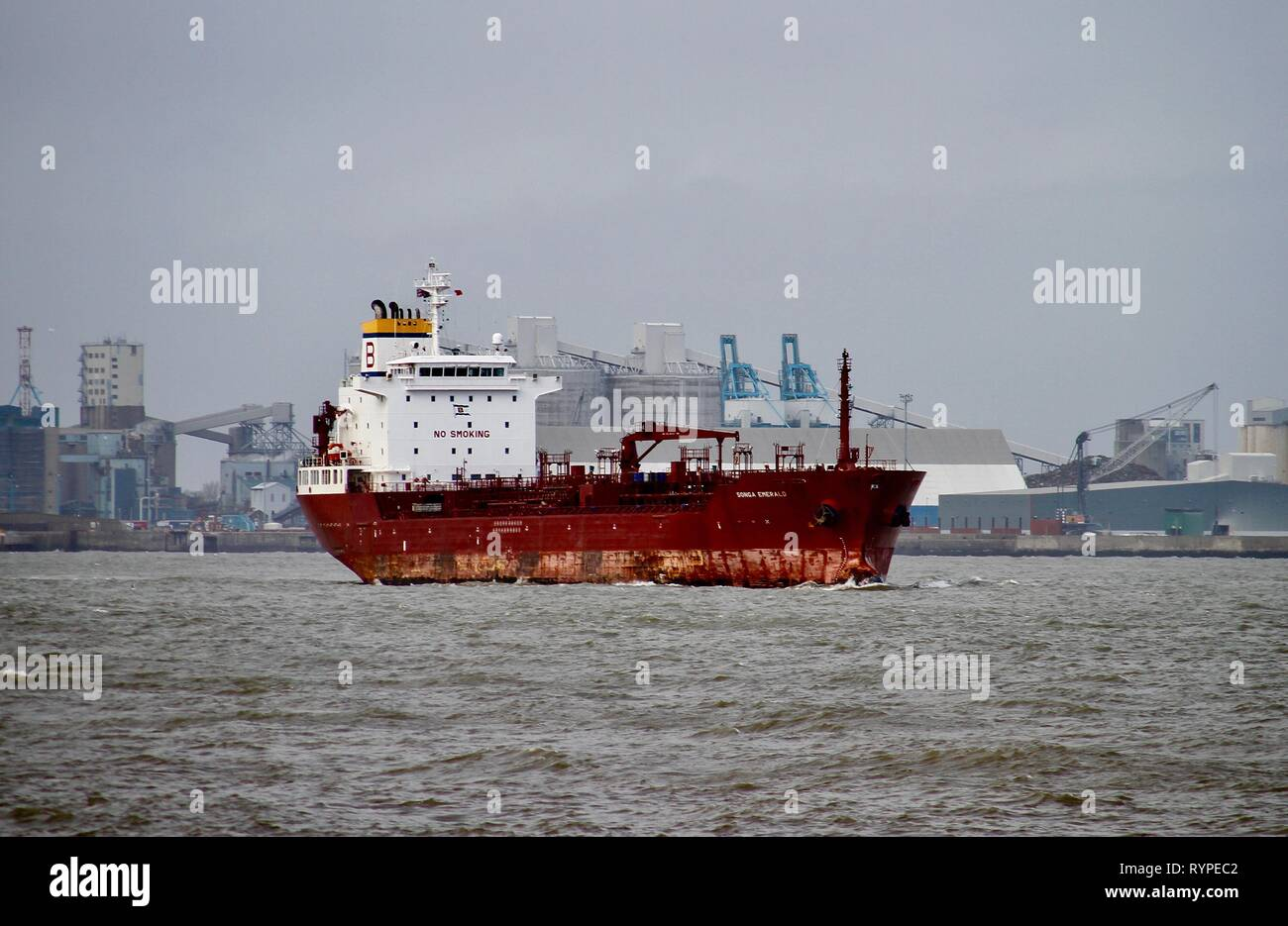Liverpool, UK. 14th Mar, 2019. Boats back on river mersey after storm Gareth cancelled all sailing 24 hours earlier Credit: IAN Fairbrother/Alamy Live News - Stock Image
