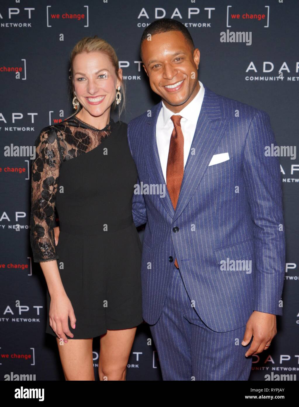 New York, NY, USA. 14th Mar, 2019. at arrivals for The 2019 ADAPT Leadership Awards Gala, Cipriani 42nd Street, New York, NY March 14, 2019. Credit: Eli Winston/Everett Collection/Alamy Live News - Stock Image