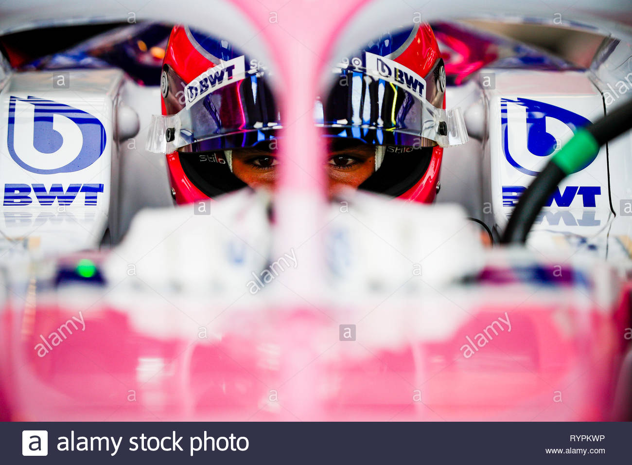 Australia. 14th Mar, 2019. MELBOURNE GRAND PRIX CIRCUIT, AUSTRALIA - MARCH 15: Lance Stroll, Racing Point during the Australian GP at Melbourne Grand Prix Circuit on March 15, 2019 in Melbourne Grand Prix Circuit, Australia. (Photo by Glenn Dunbar / LAT Images) Credit: Motorsport Images/Alamy Live News - Stock Image