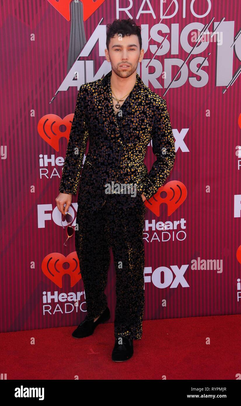 Max Schneider at arrivals for 2019 iHeartRadio Music Awards