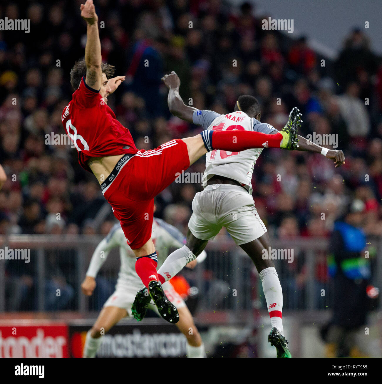 Uefa Champions League Round Of: Liverpool 2018 Stock Photos & Liverpool 2018 Stock Images
