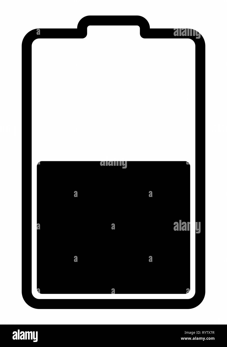 Battery Charging Icon - Stock Vector