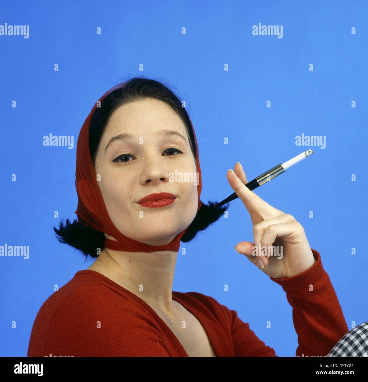 d44b3623c43 Woman Smoking Cigarette Historical Stock Photos   Woman Smoking ...