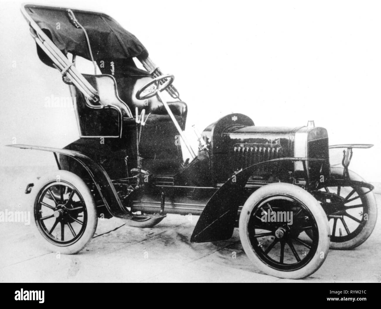 transport / transportation, car, vehicle variants, Laurin and Klement A 6/7 HP, 1905 - 1907, Additional-Rights-Clearance-Info-Not-Available - Stock Image