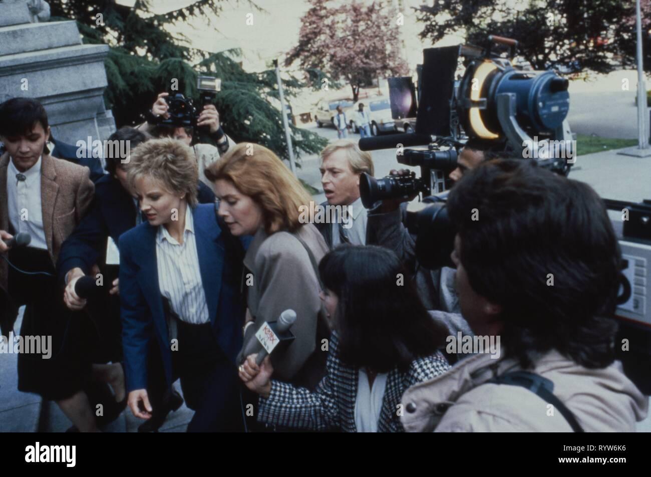 The accused  Year: 1988 USA Director : Jonathan Kaplan Jodie Foster, Kelly McGillis - Stock Image