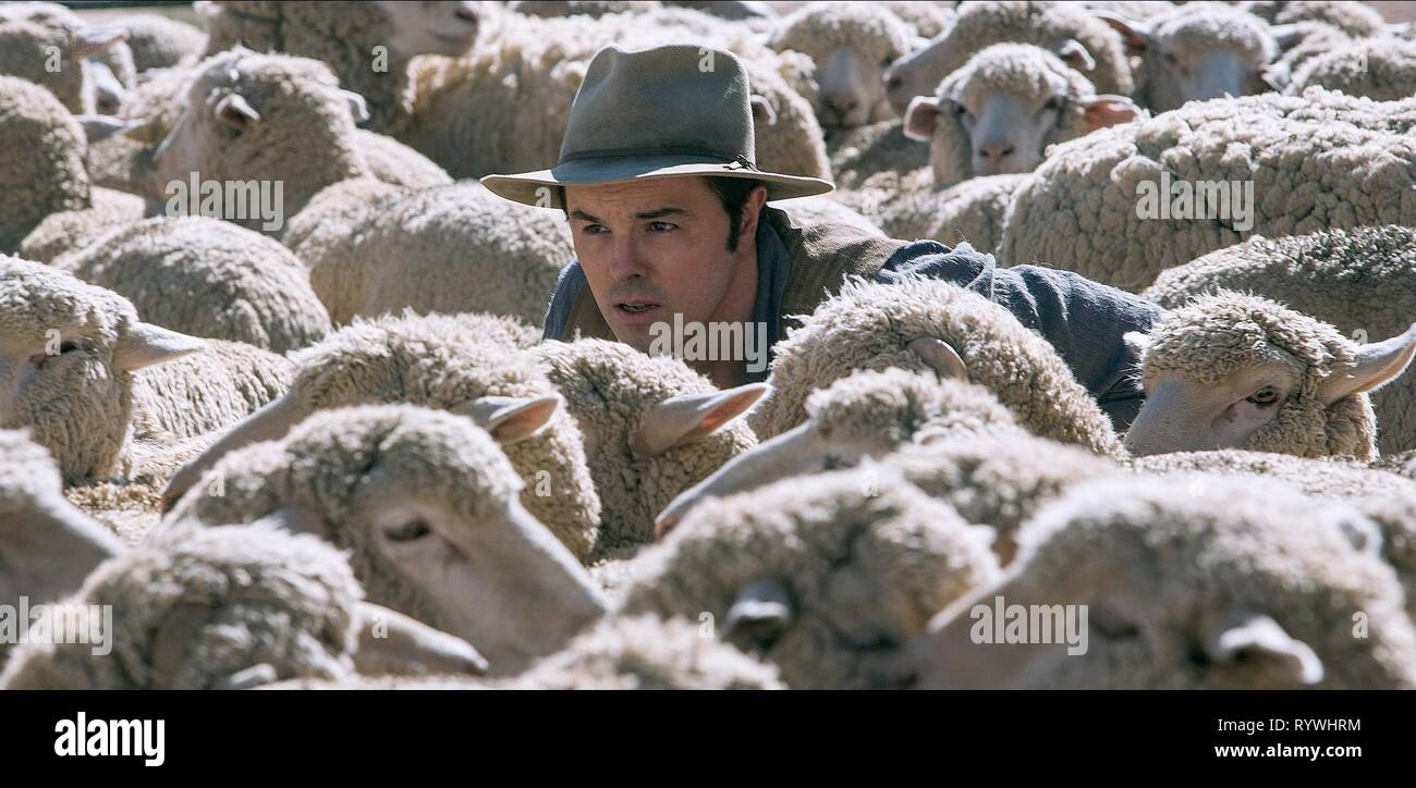 SETH MACFARLANE, A MILLION WAYS TO DIE IN THE WEST, 2014 - Stock Image