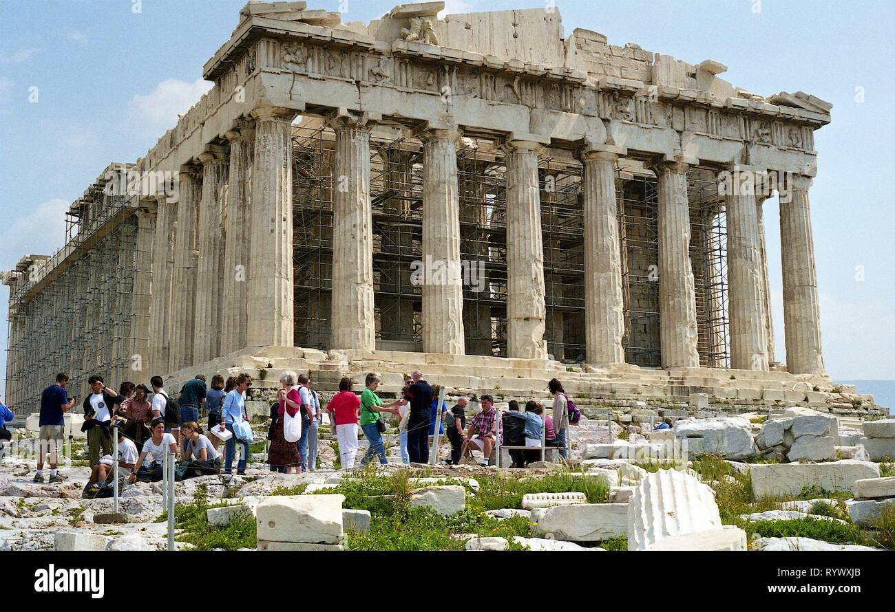 Athens, Greece 1998 Stock Photo