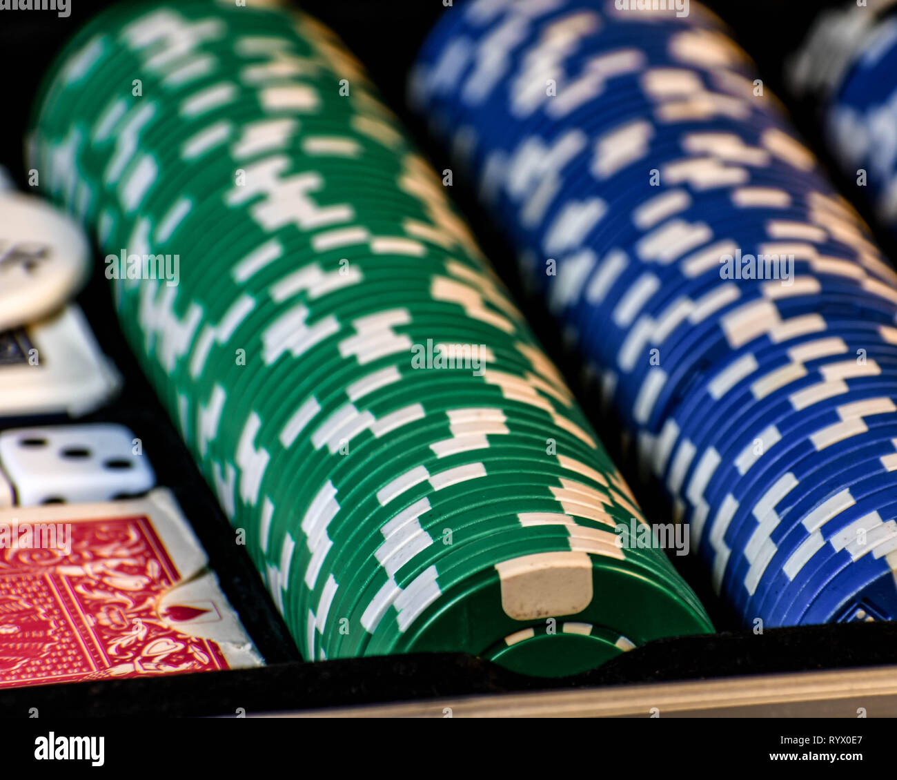 a-poker-scene-with-cards-chips-and-green