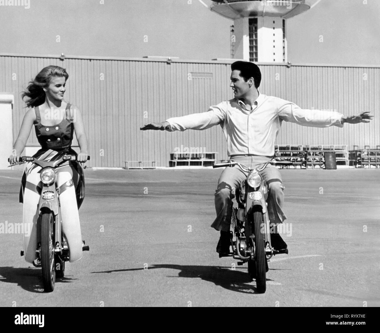 ANN-MARGRET,ELVIS PRESLEY, VIVA LAS VEGAS, 1964 - Stock Image