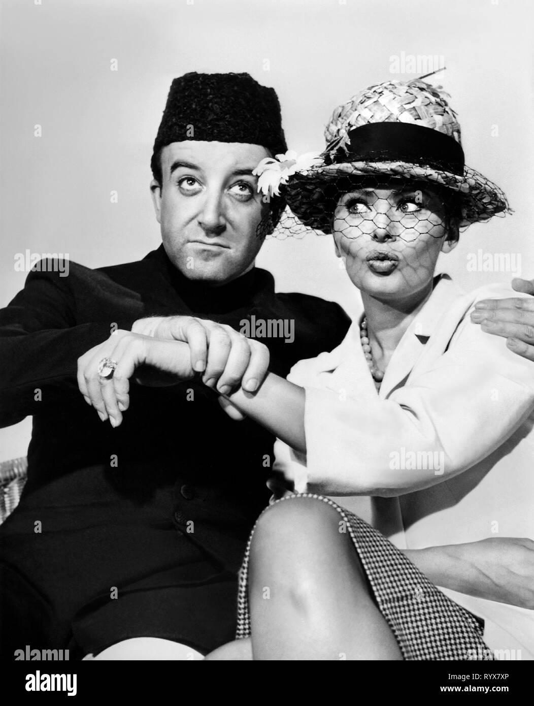 SELLERS,LOREN, THE MILLIONAIRESS, 1960 Stock Photo