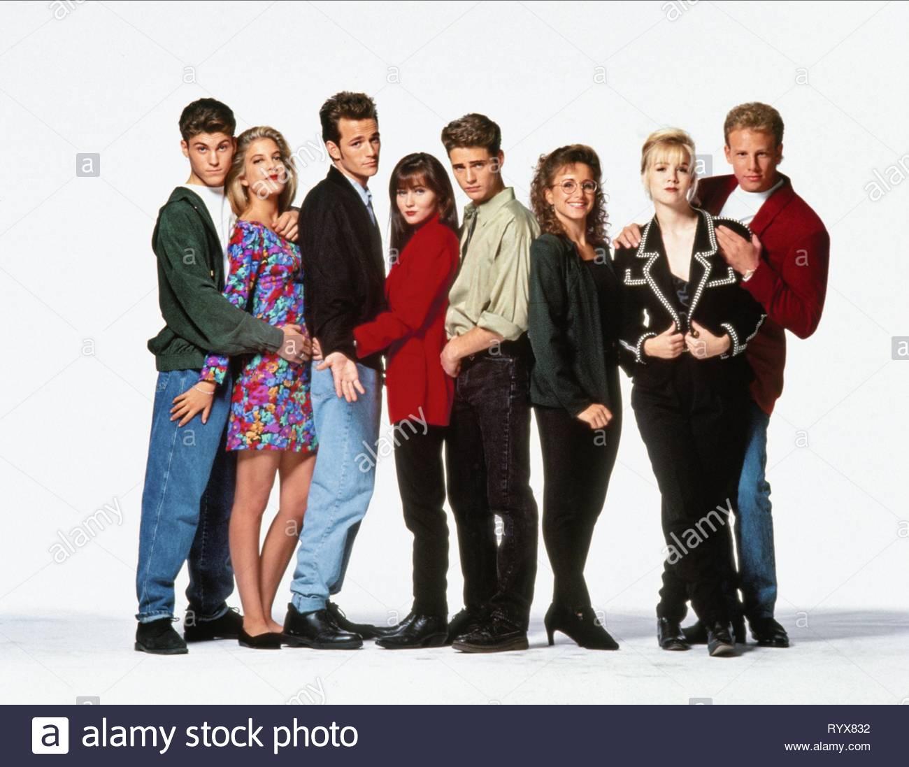 Beverly Hills 90210 Luke Perry Stock Photos & Beverly Hills