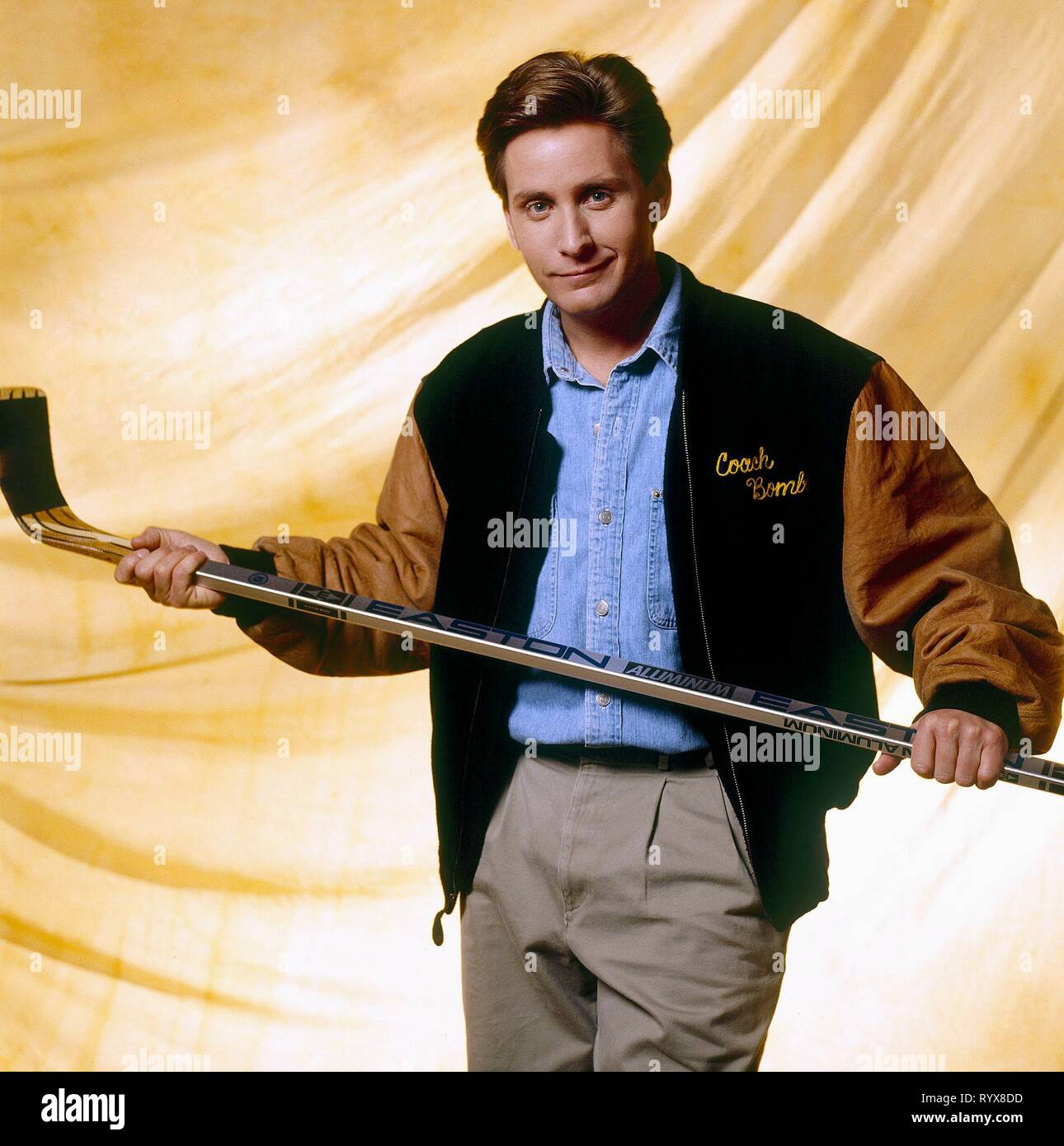 EMILIO ESTEVEZ, THE MIGHTY DUCKS, 1992 - Stock Image