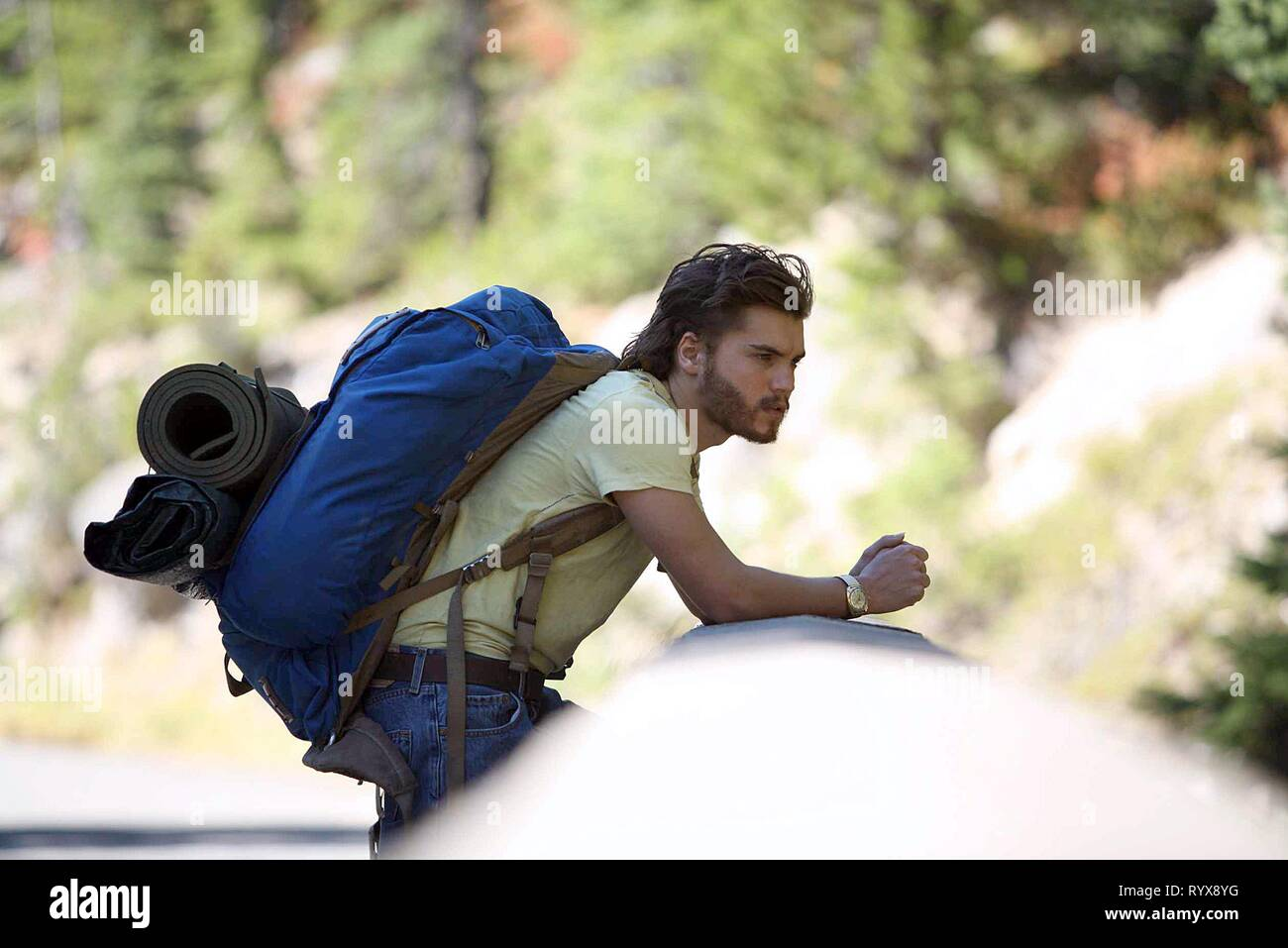 EMILE HIRSCH, INTO THE WILD, 2007 - Stock Image