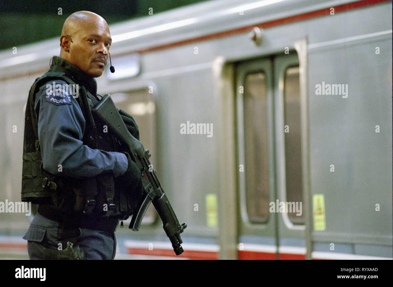 SAMUEL L. JACKSON, S.W.A.T., 2003 - Stock Image