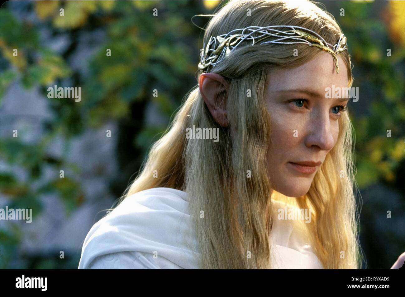 Cate Blanchett The Lord Of The Rings The Fellowship Of The Ring 2001 Stock Photo Alamy