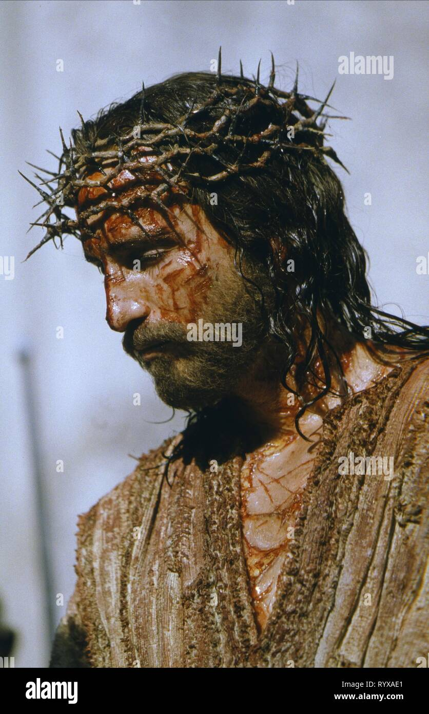 JAMES CAVIEZEL, THE PASSION OF THE CHRIST, 2004 - Stock Image