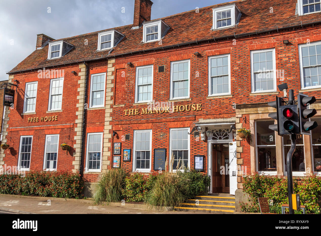 royston village , town centre, high street, hertfordshire, england, uk gb - Stock Image