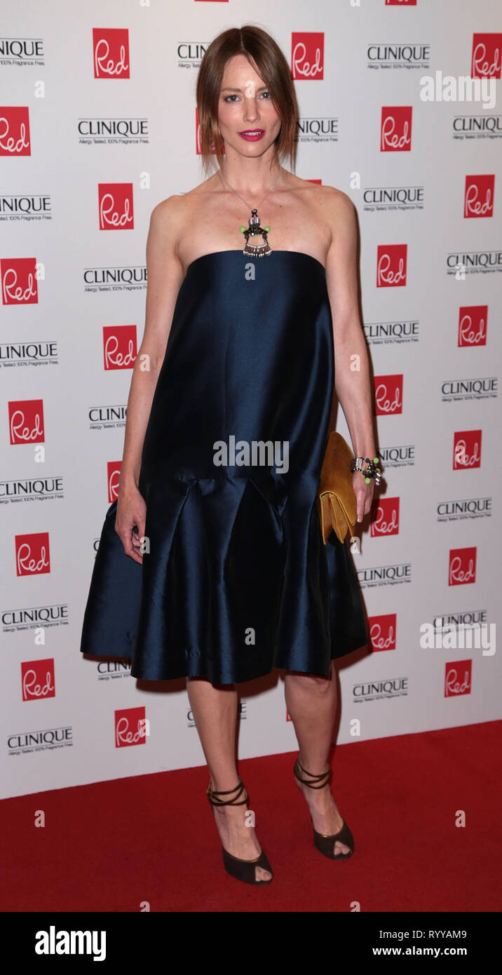 Sep 03, 2014 - London, England, UK - Red Women Of The Year Awards , The Ham Yard Hotel, Soho, London Photo Shows: Sienna Guillory - Stock Image