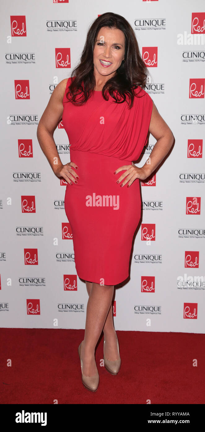 Sep 03, 2014 - London, England, UK - Red Women Of The Year Awards , The Ham Yard Hotel, Soho, London Photo Shows: Susanna Reid - Stock Image