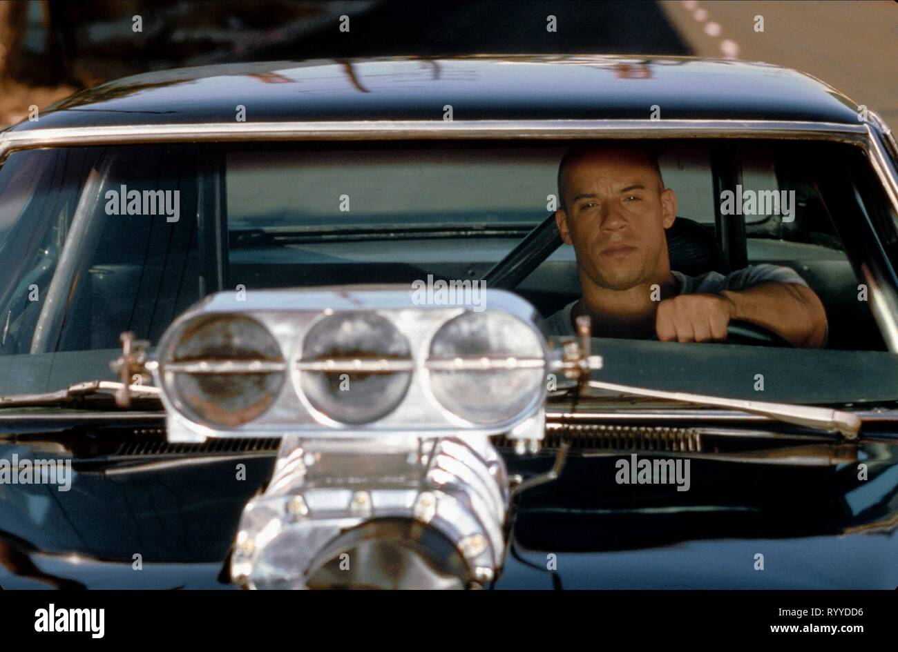 VIN DIESEL, THE FAST AND THE FURIOUS, 2001 - Stock Image