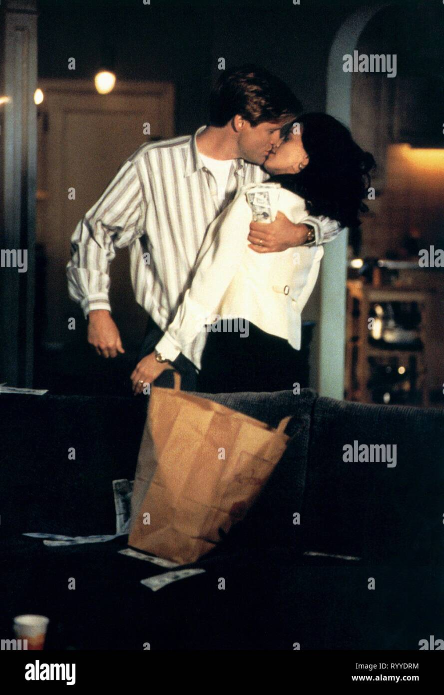 BILL PULLMAN, LINDA FIORENTINO, THE LAST SEDUCTION, 1994 - Stock Image