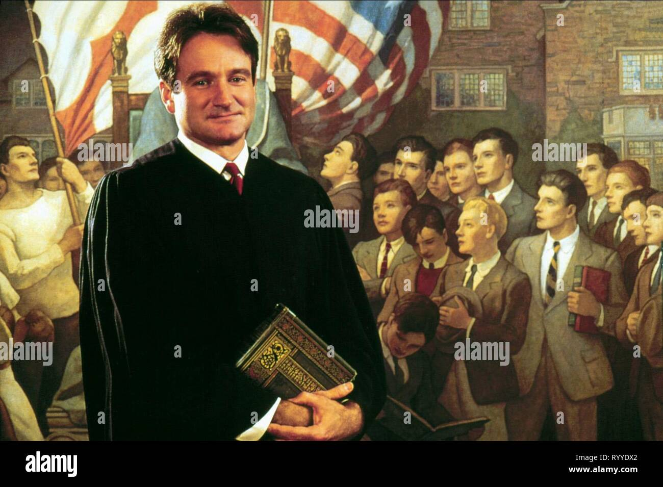 Robin Williams Dead Poets Society 1989 Stock Photo Alamy