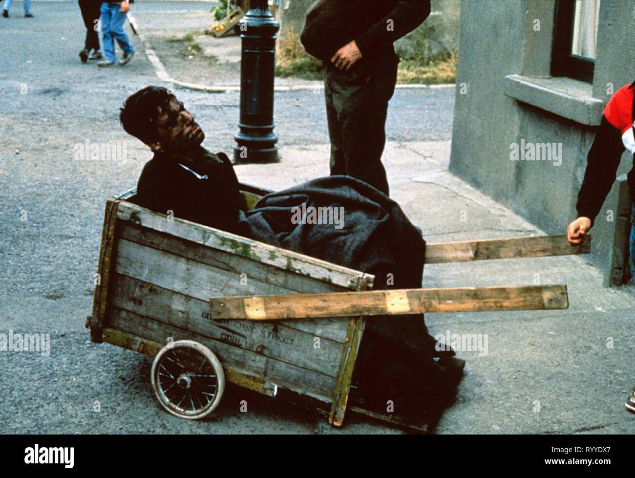 DANIEL DAY-LEWIS, MY LEFT FOOT, 1989 - Stock Image