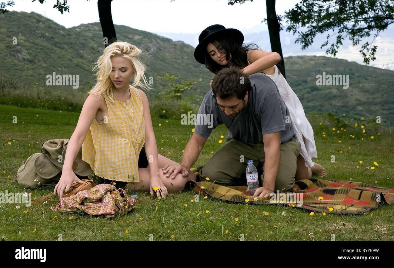 JOHANSSON,BARDEM,CRUZ, VICKY CRISTINA BARCELONA, 2008 - Stock Image