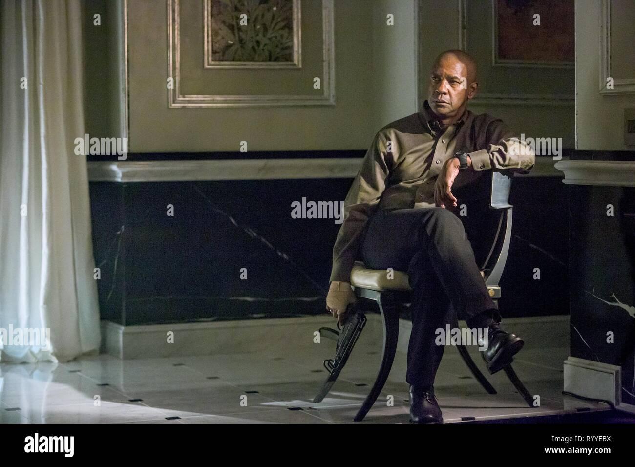 Denzel Washington The Equalizer 2014 Stock Photo Alamy