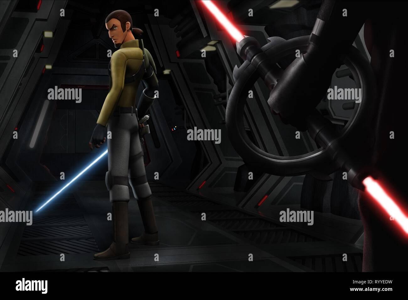 KANAN JARRUS, STAR WARS REBELS, 2014 - Stock Image