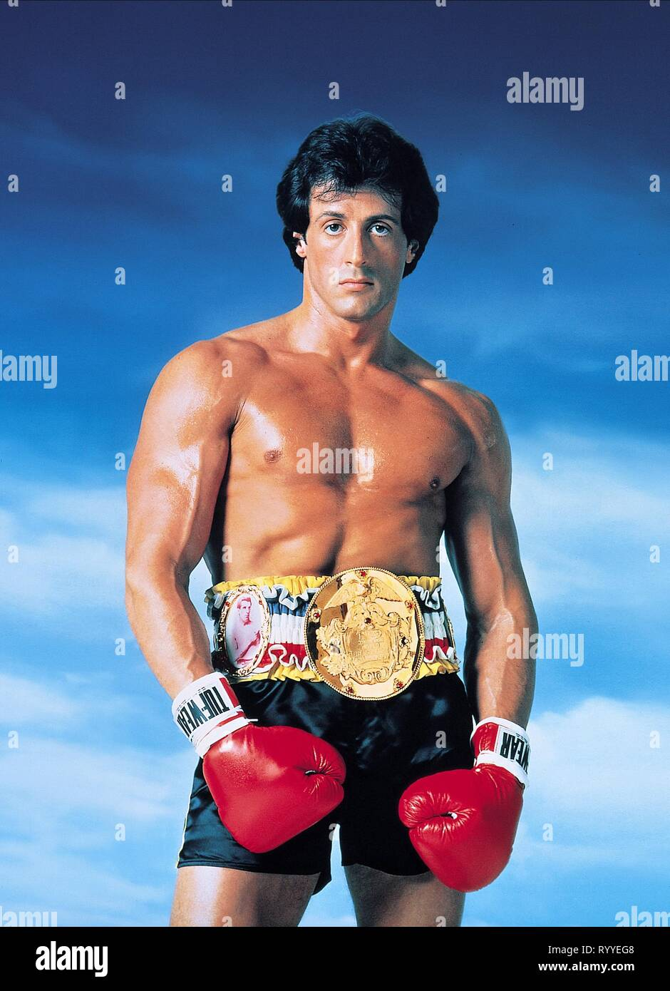 SYLVESTER STALLONE, ROCKY III, 1982 - Stock Image