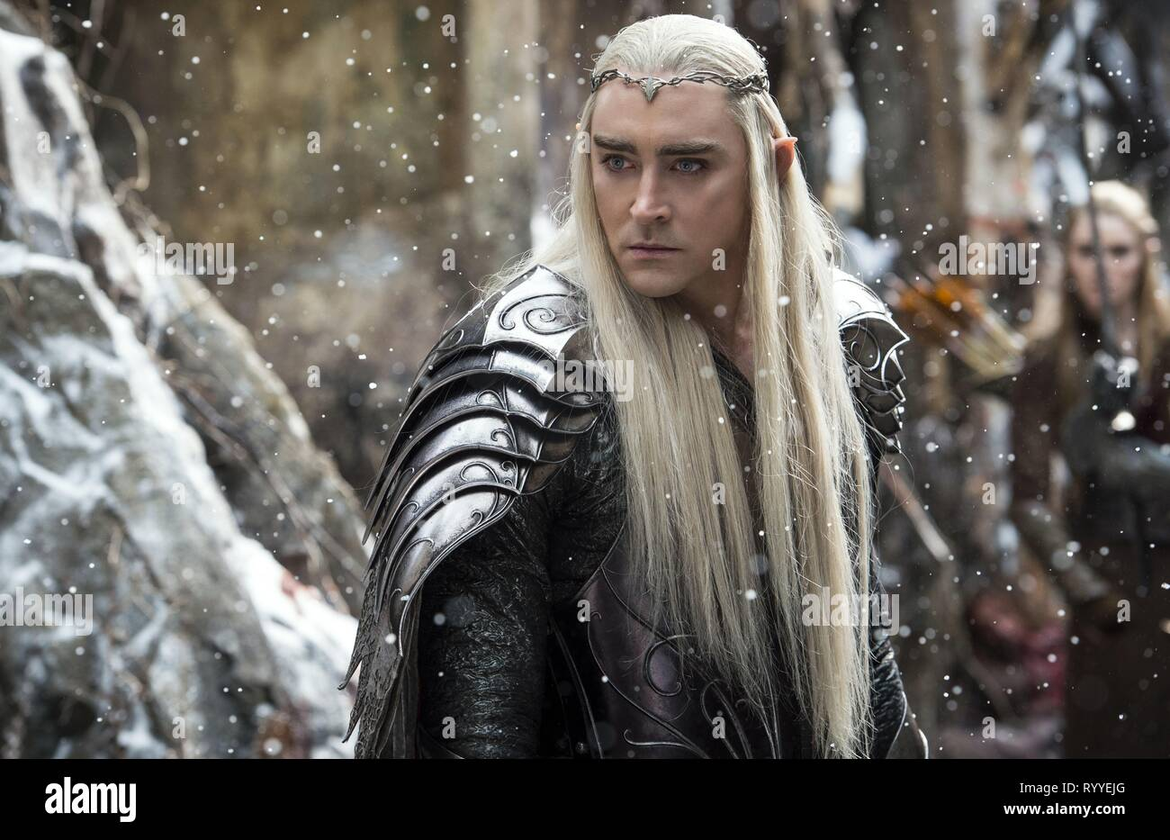 LEE PACE, THE HOBBIT: THE BATTLE OF THE FIVE ARMIES, 2014 - Stock Image