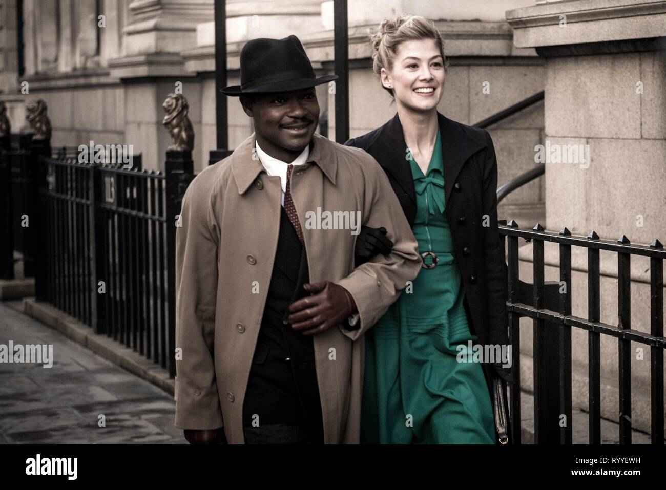 OYELOWO,PIKE, A UNITED KINGDOM, 2016 - Stock Image