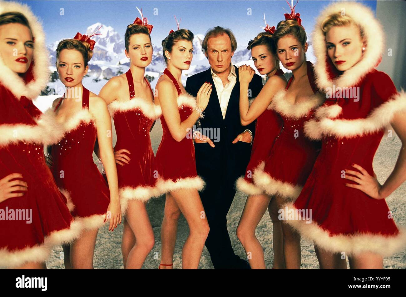 BILL NIGHY, LOVE ACTUALLY, 2003 - Stock Image
