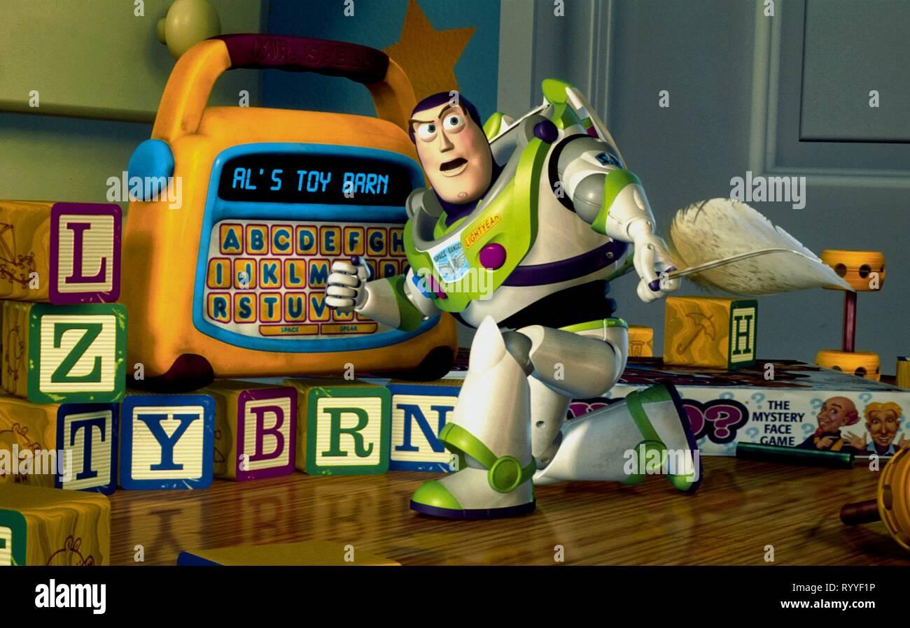 BUZZ LIGHTYEAR, TOY STORY 2, 1999 - Stock Image